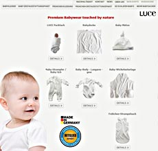 Premium Babywear touched by nature