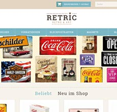 retric.de • Retro&Art Shop